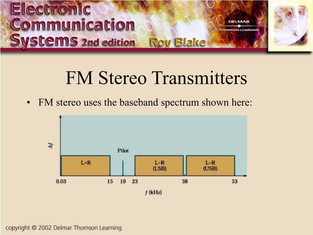 FM Stereo Transmitters