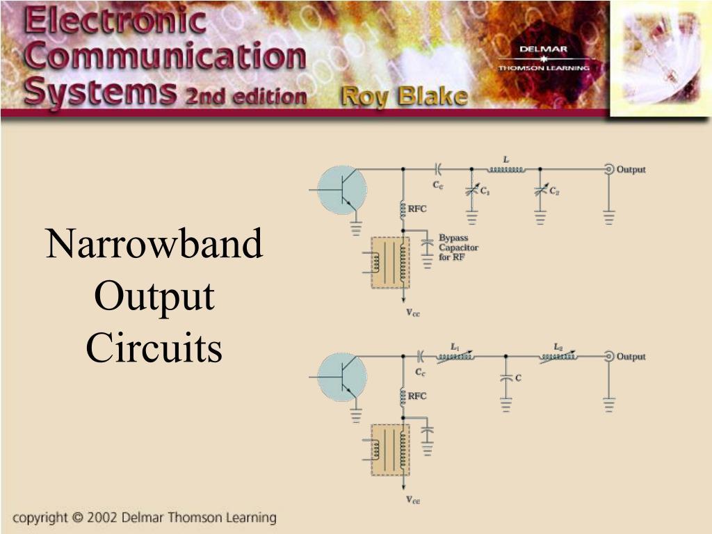 Narrowband Output Circuits