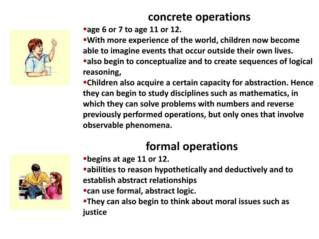 concrete operations