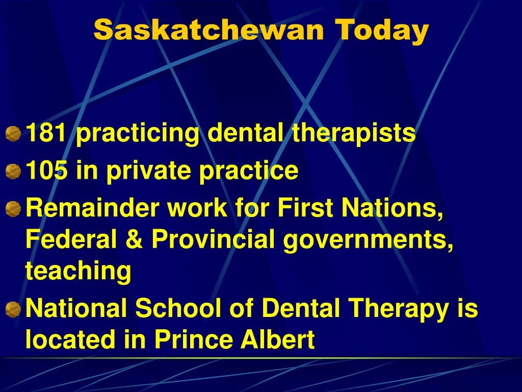 Saskatchewan Today