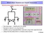 what s next towards sub 100 w transceiver11