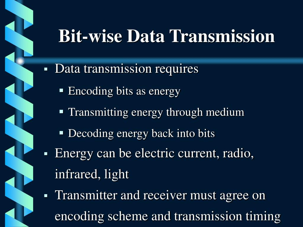 Bit-wise Data Transmission