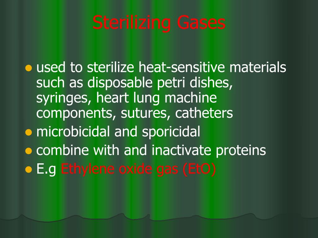 Sterilizing Gases