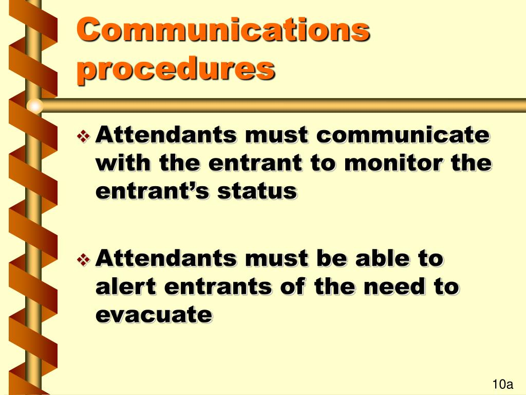 Communications procedures