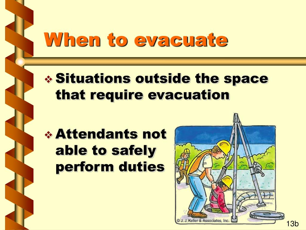 When to evacuate