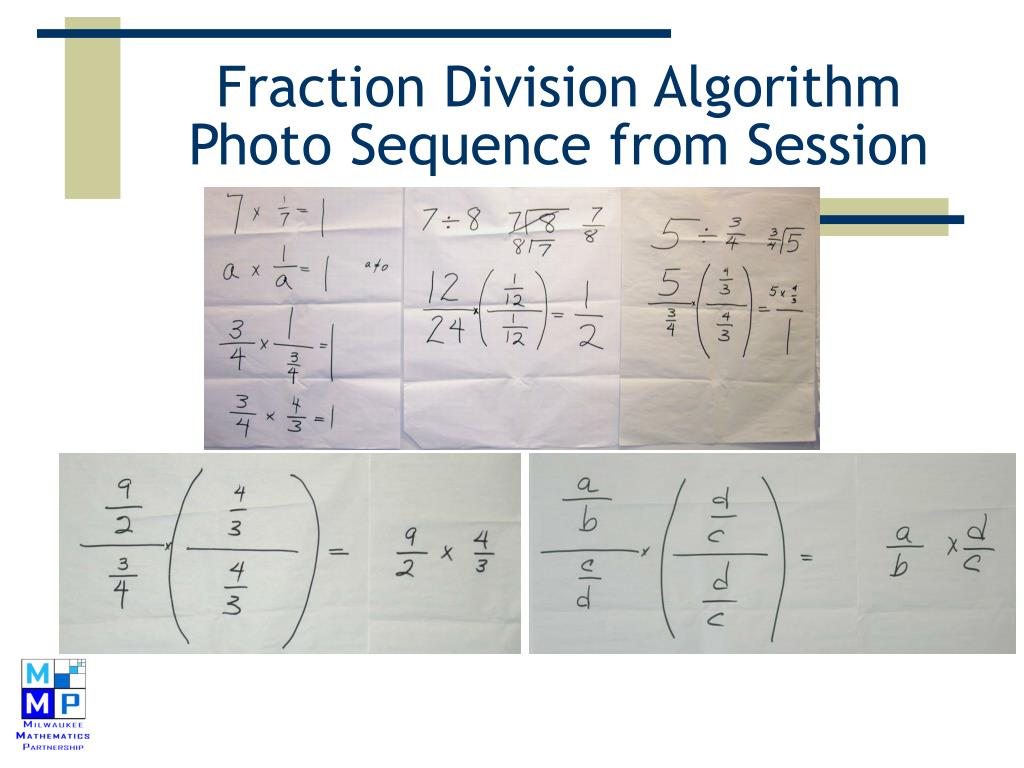 Fraction Division Algorithm