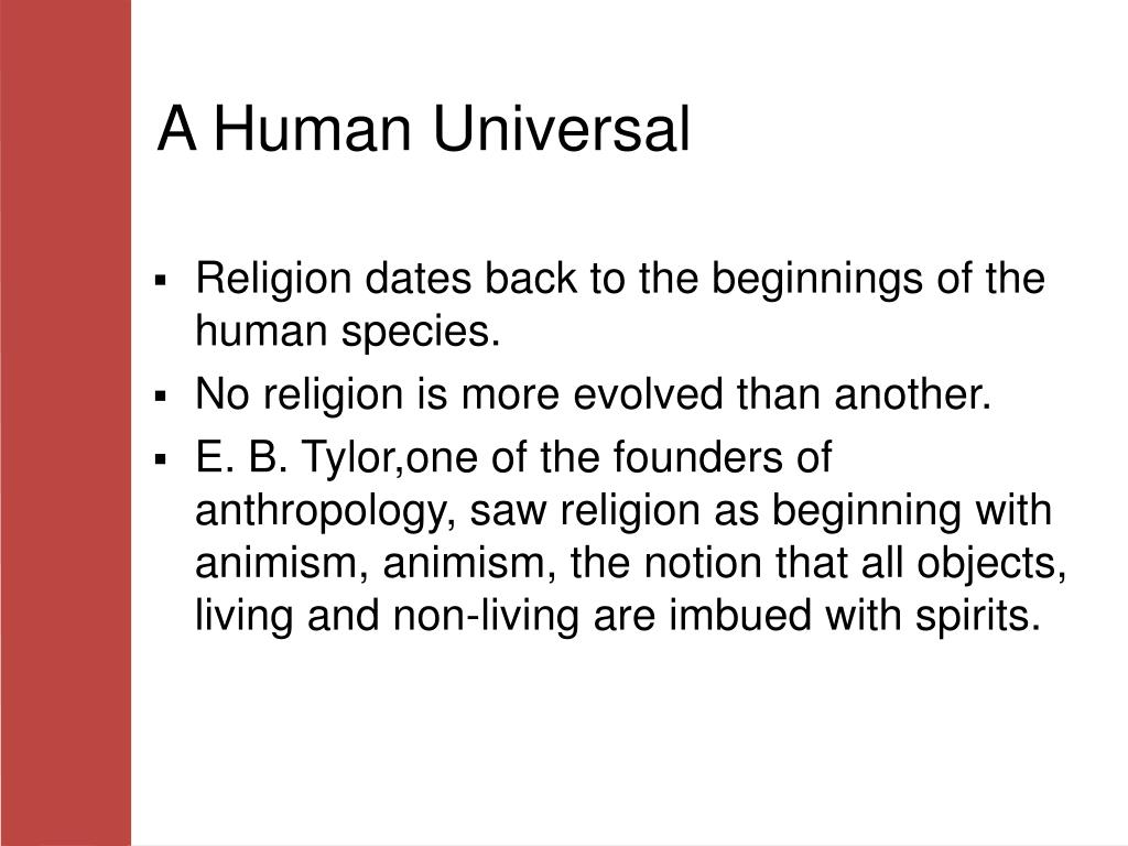 A Human Universal