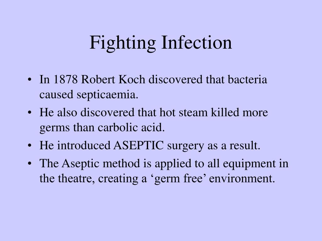 Fighting Infection