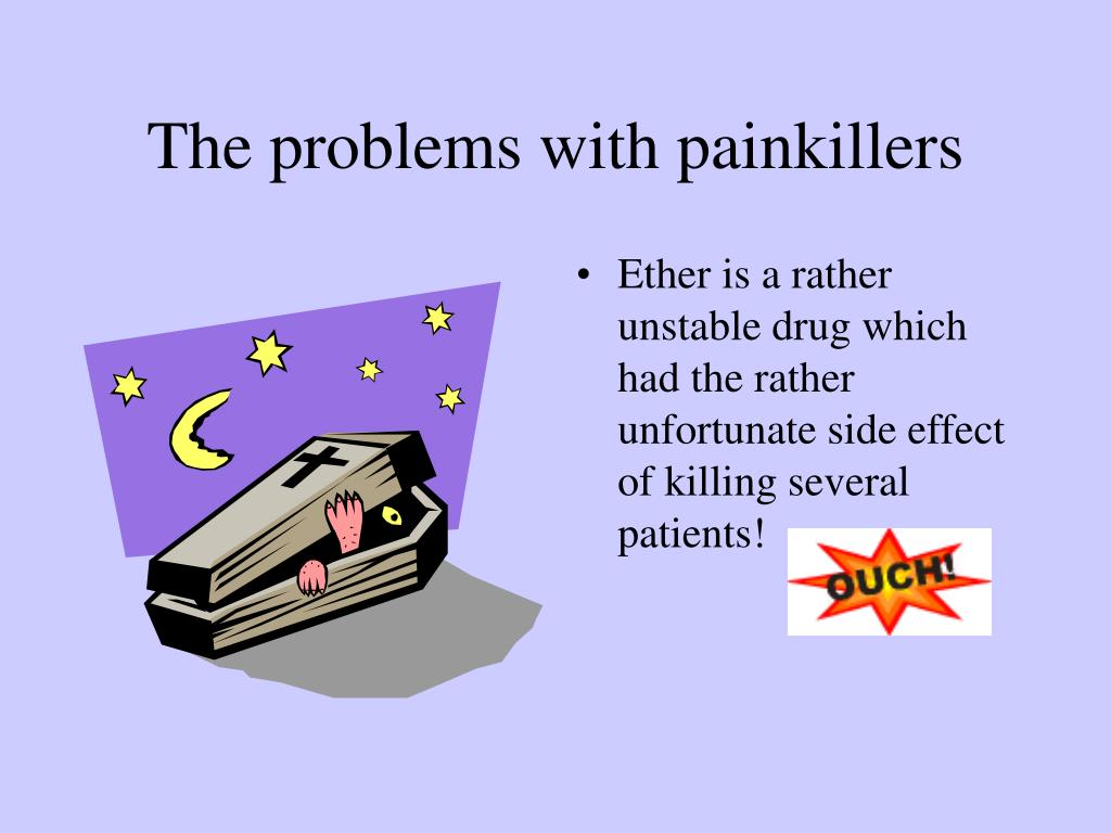 The problems with painkillers