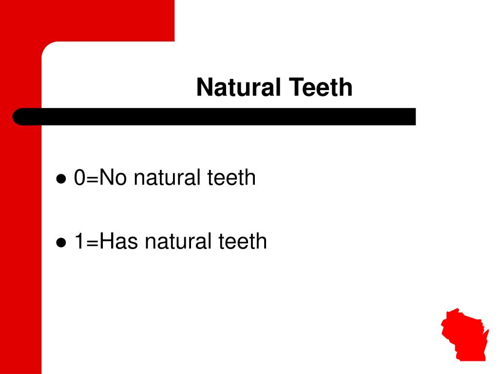 Natural Teeth