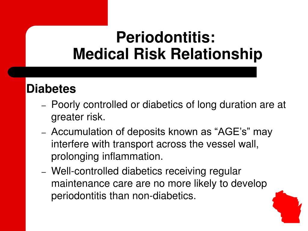Periodontitis: