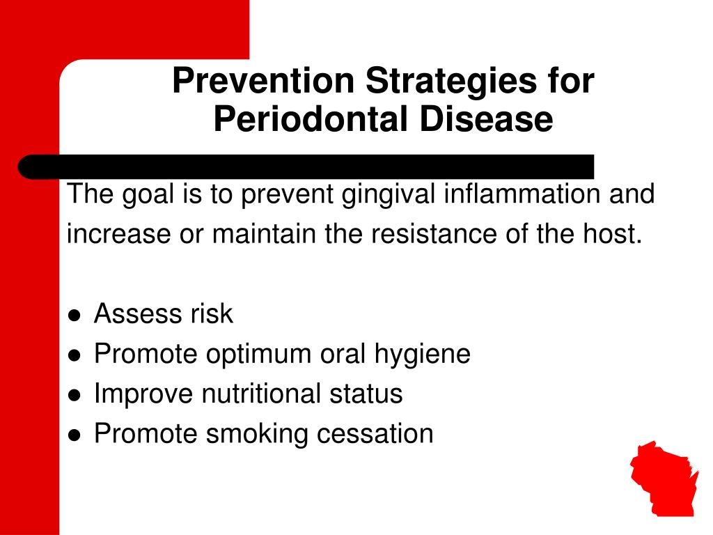 Prevention Strategies for Periodontal Disease