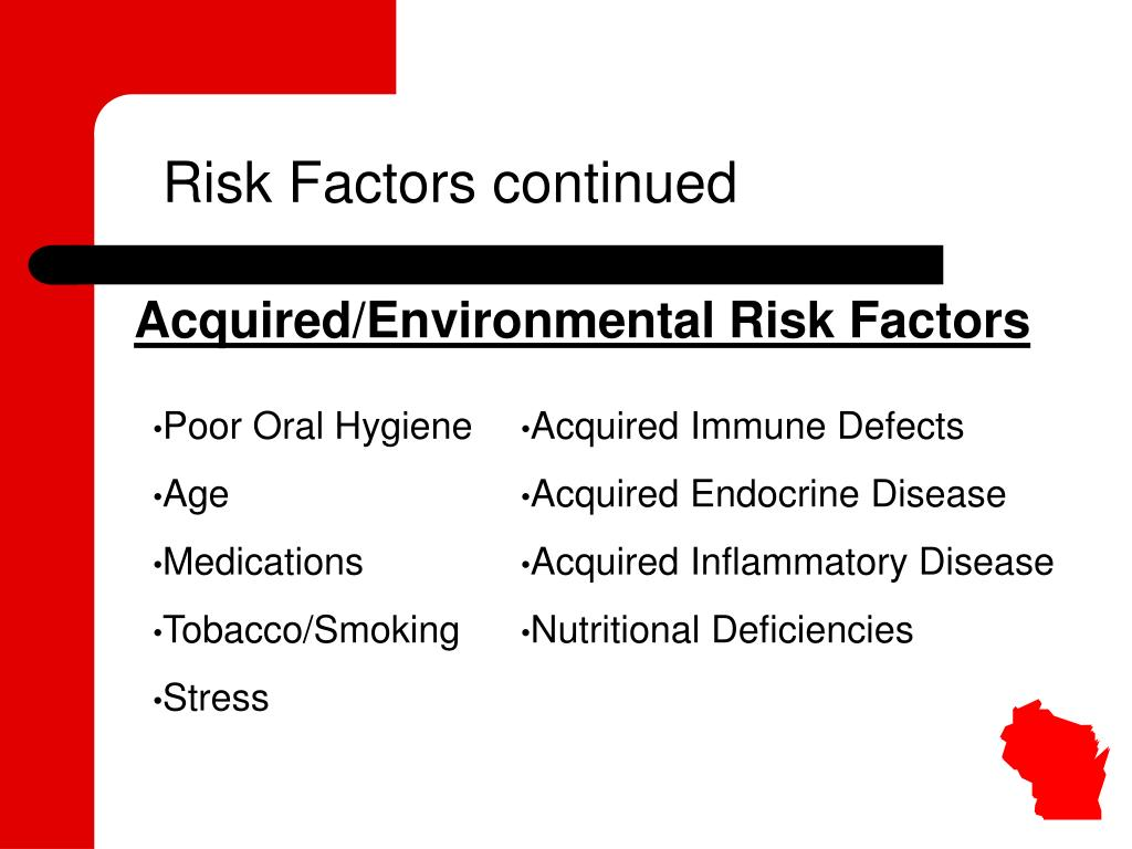 Risk Factors continued