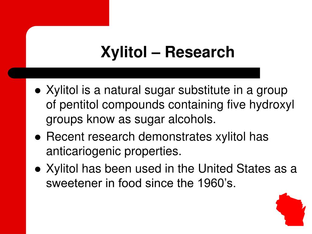 Xylitol – Research