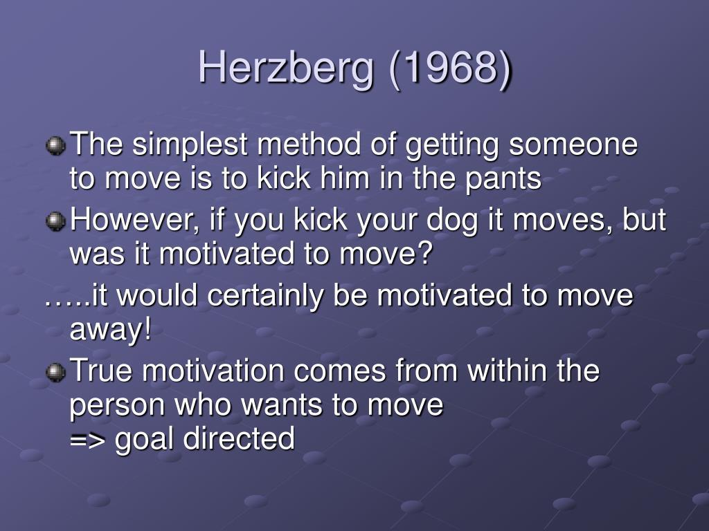 Herzberg (1968)