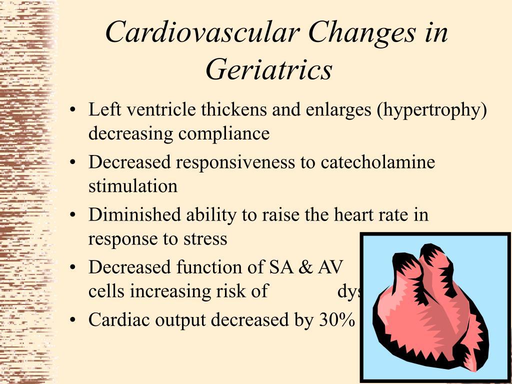 Cardiovascular Changes in Geriatrics
