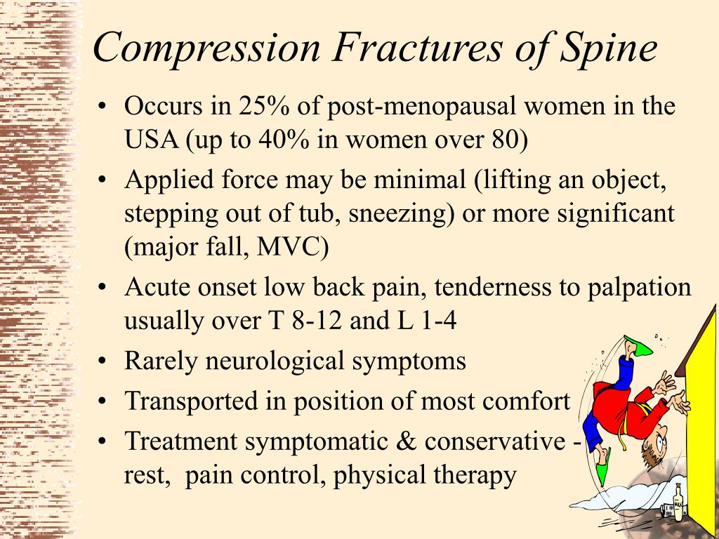 Compression Fractures of Spine