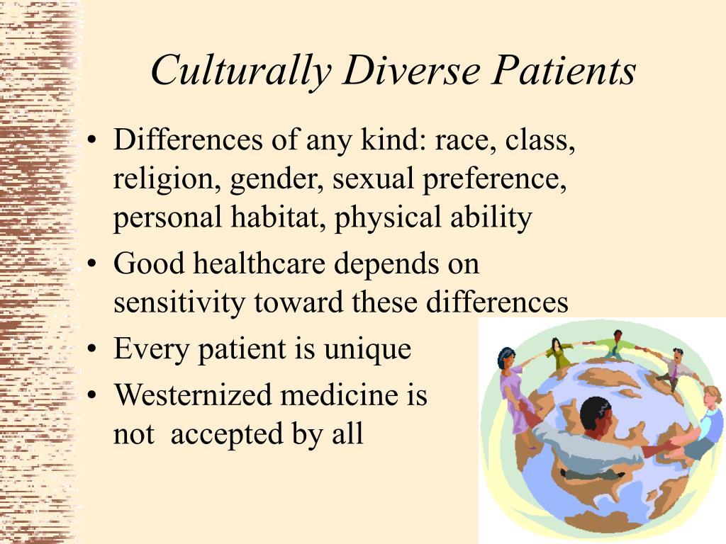 Culturally Diverse Patients