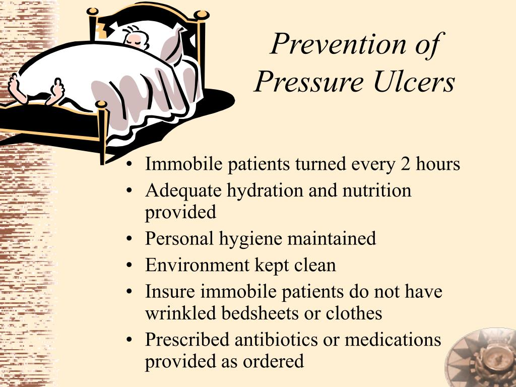 Prevention of Pressure Ulcers