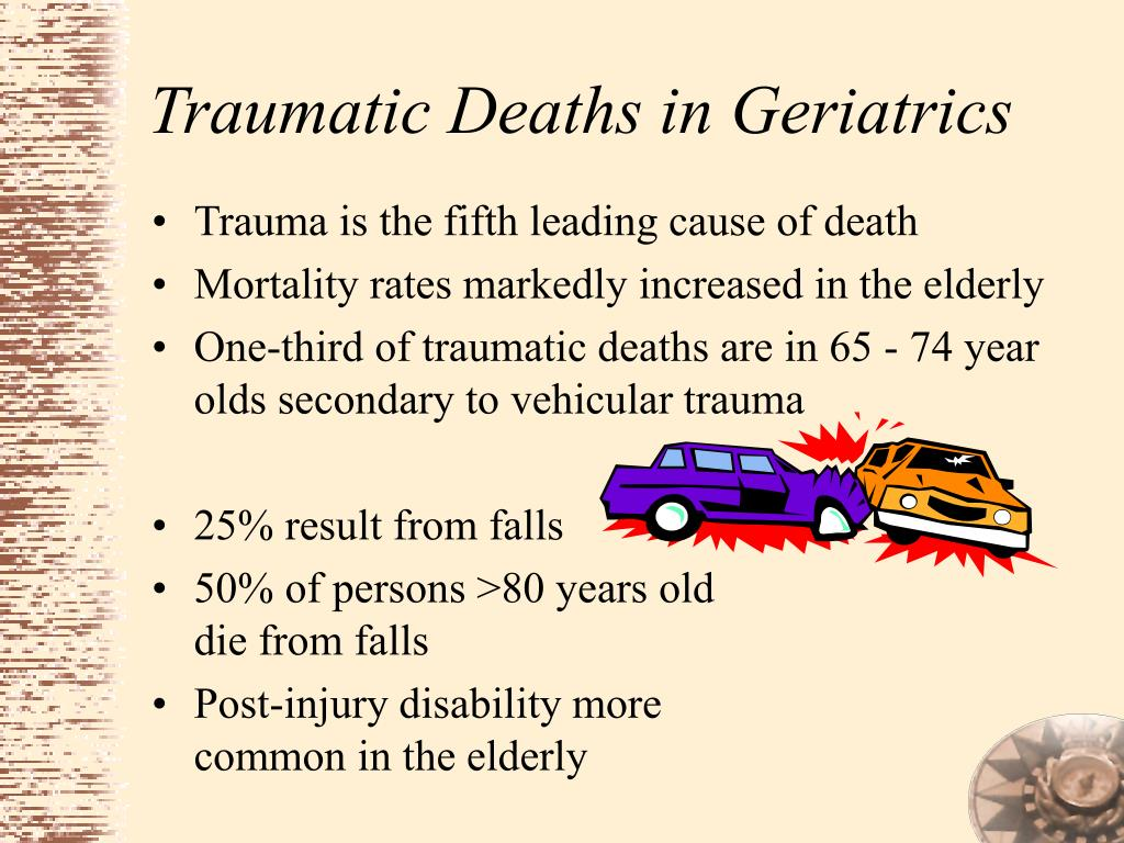 Traumatic Deaths in Geriatrics