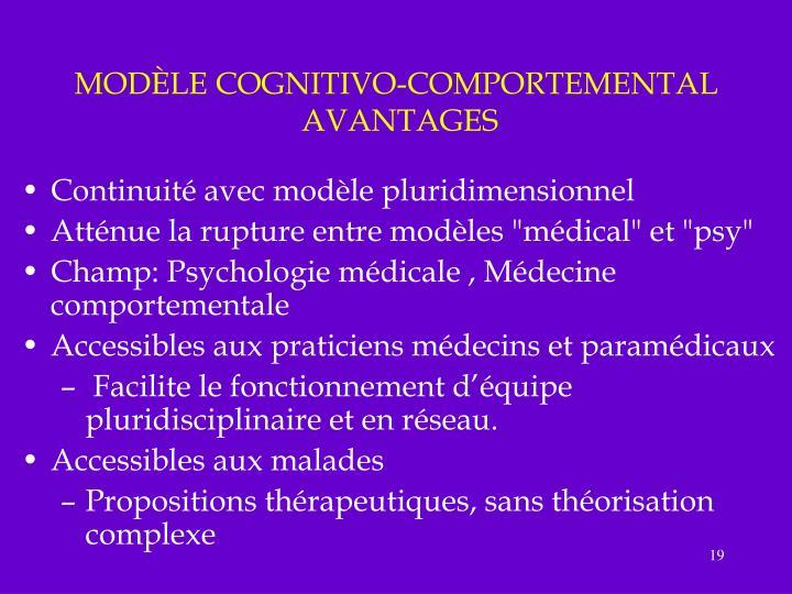 PPT - GENERALITES SUR L'APPROCHE COGNITIVO-COMPORTEMENTALE DE LA DOULEUR CHRONIQUE PowerPoint ...
