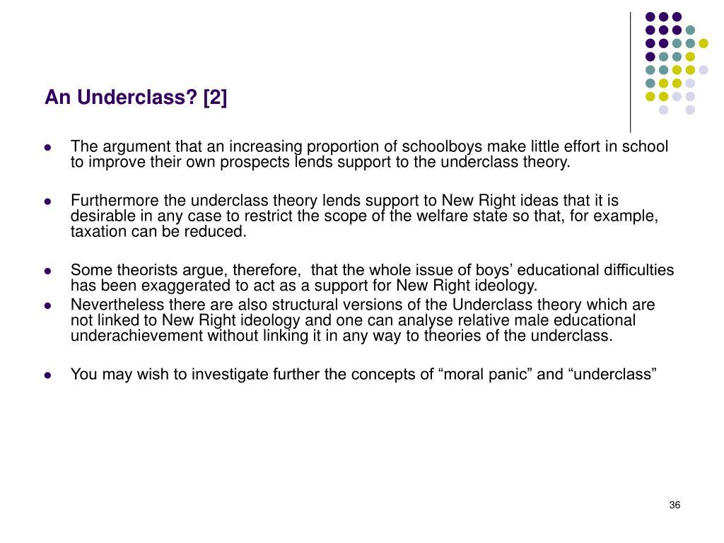 An Underclass? [2]