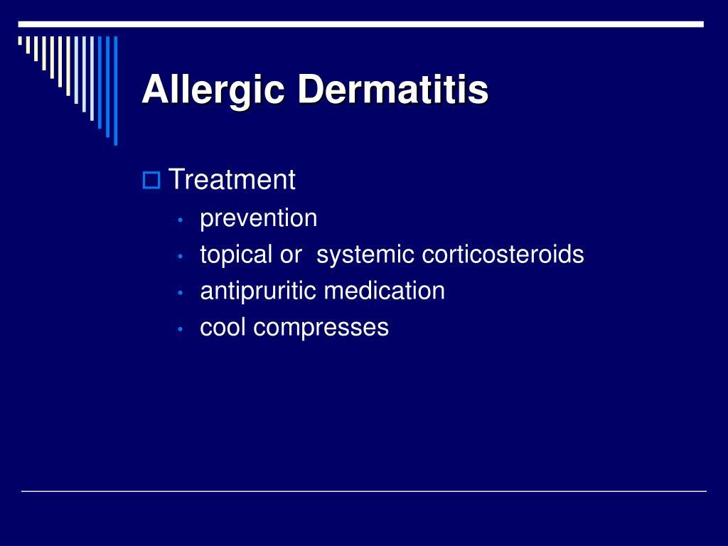 Allergic Dermatitis