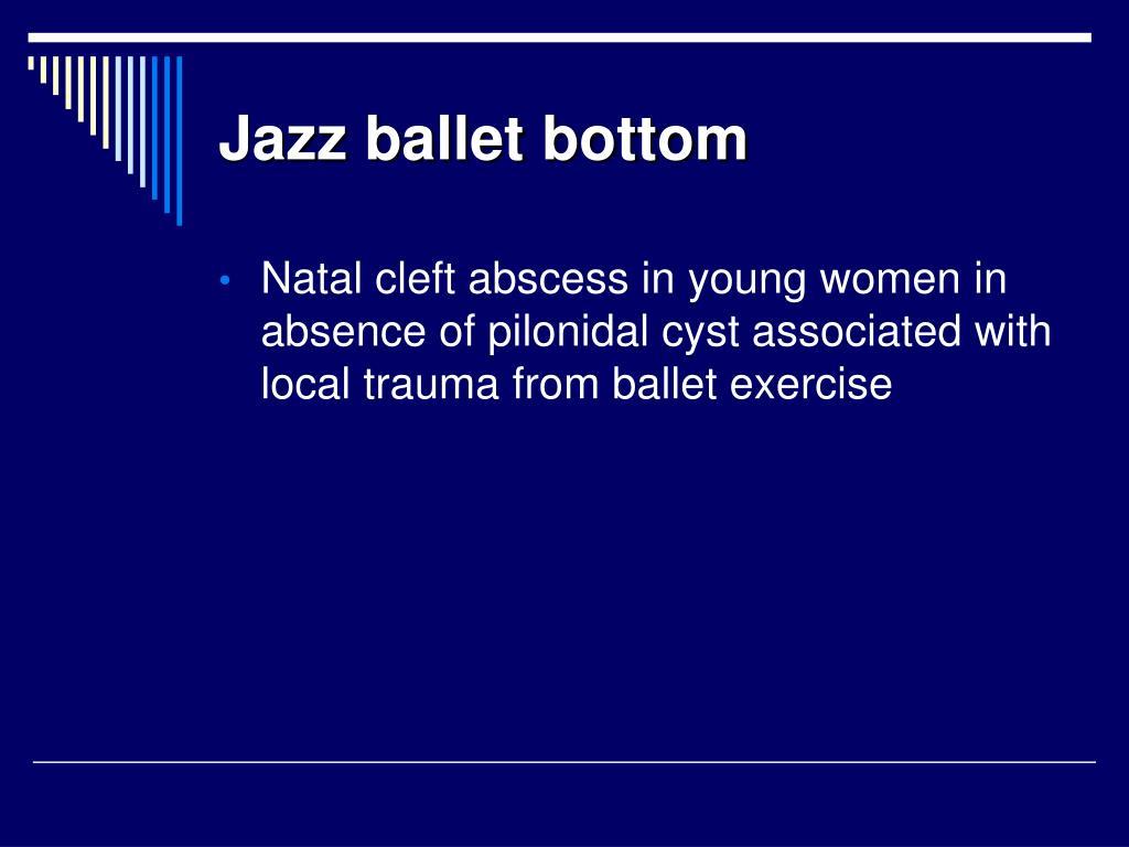 Jazz ballet bottom