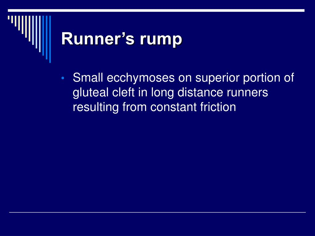 Runner's rump