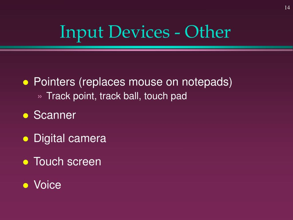 Input Devices - Other