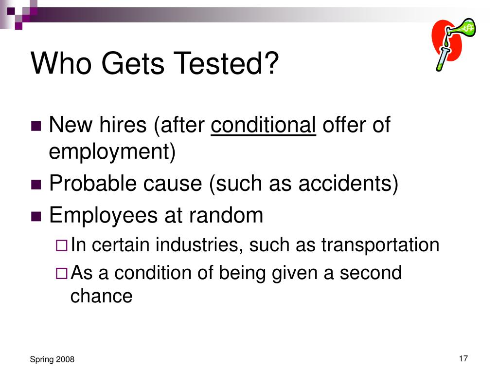 Who Gets Tested?
