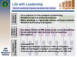 life with leadership