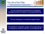 the life of the tribe8