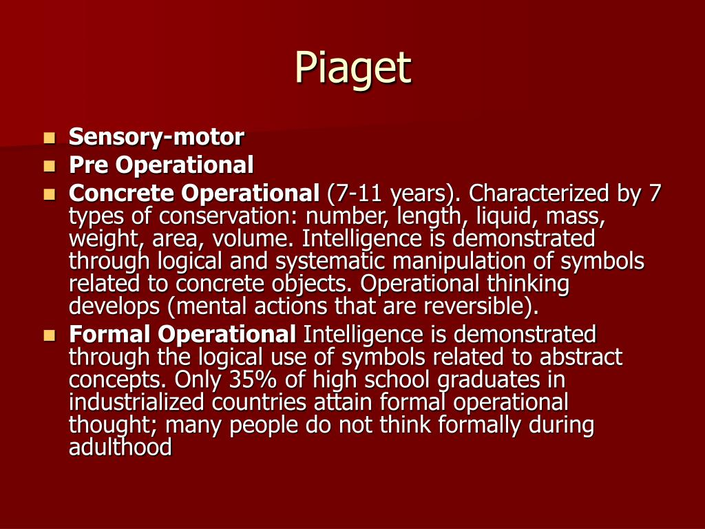 Piaget