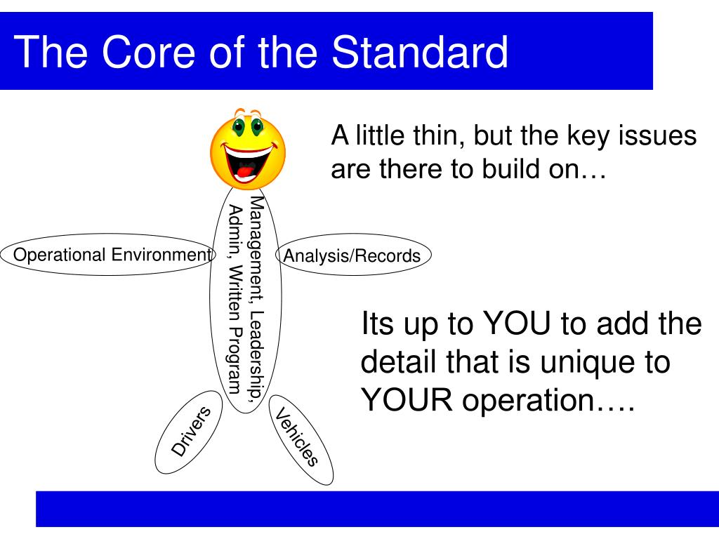 The Core of the Standard