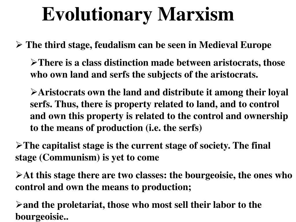 Evolutionary Marxism