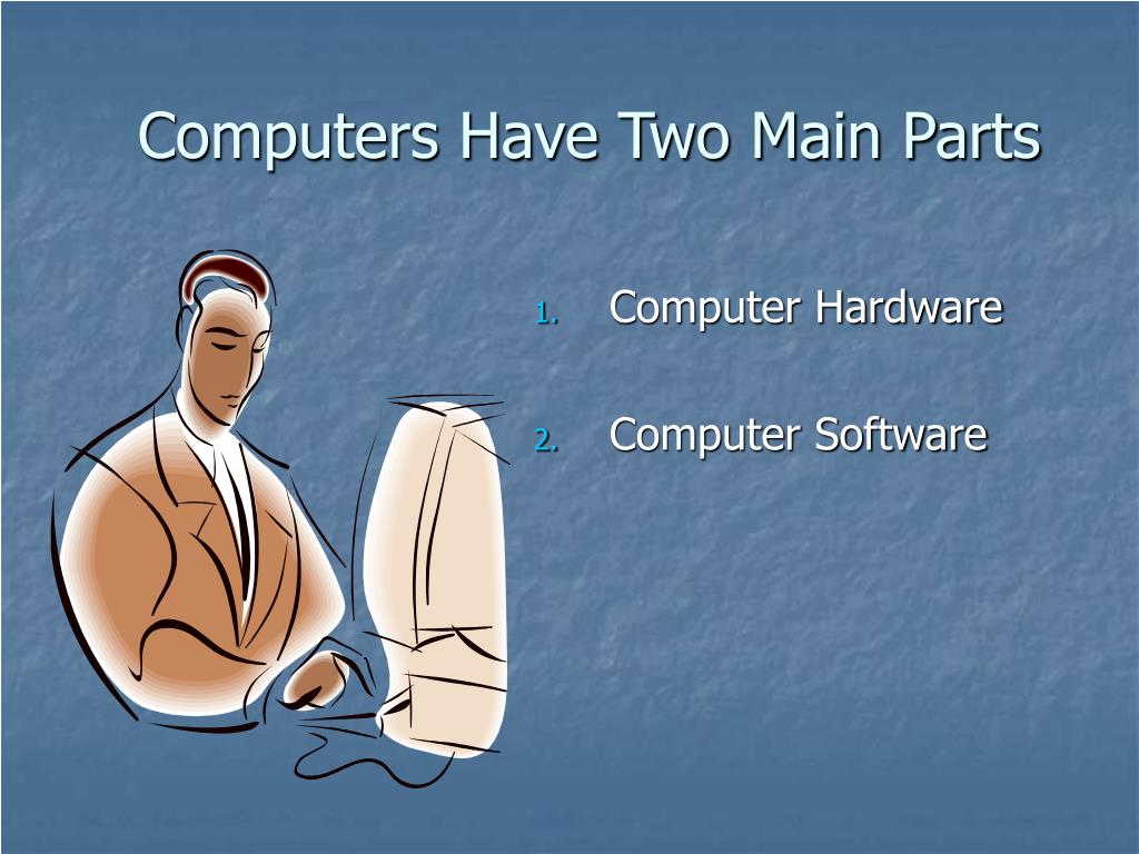 Computers Have Two Main Parts
