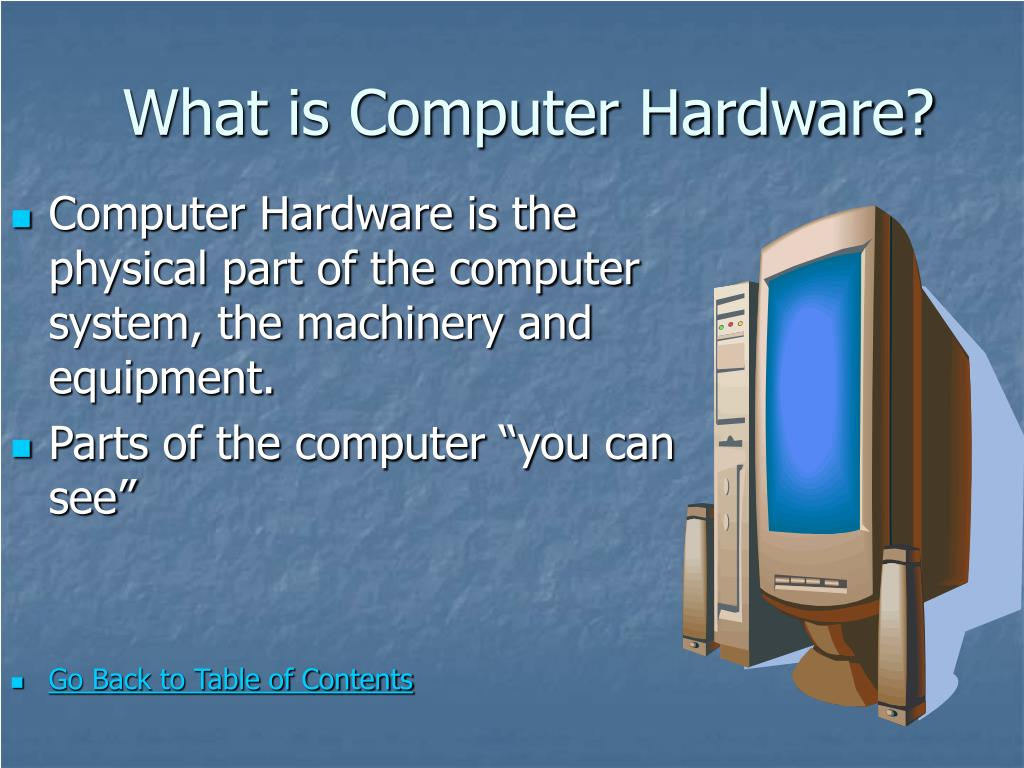 What is Computer Hardware?
