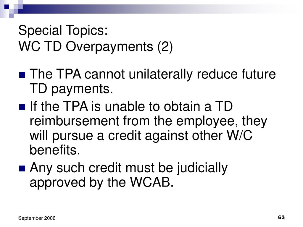 Special Topics: