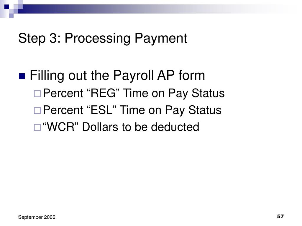 Step 3: Processing Payment
