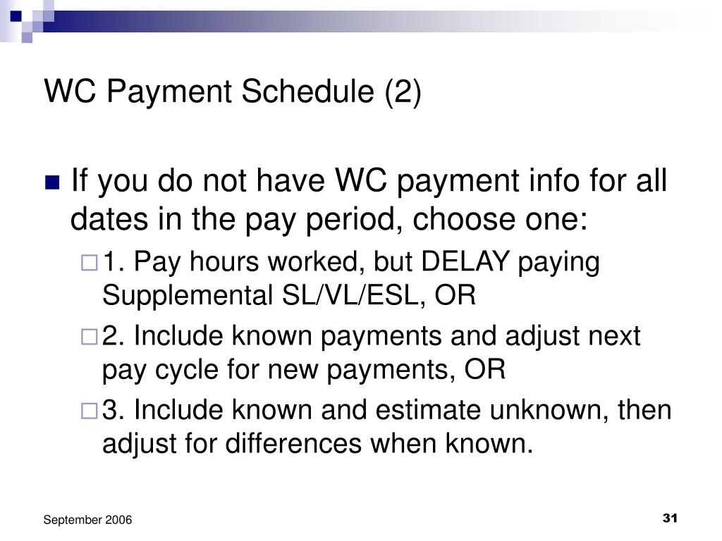 WC Payment Schedule (2)