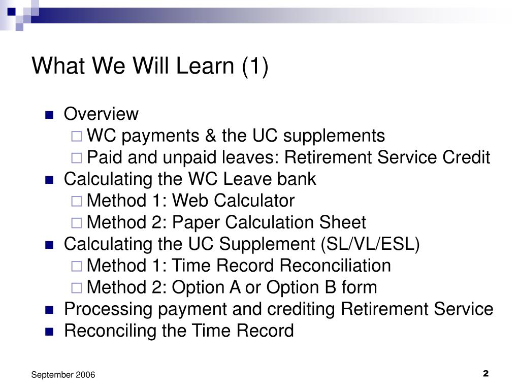 What We Will Learn (1)