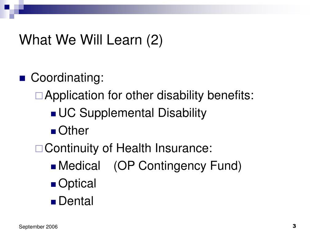 What We Will Learn (2)