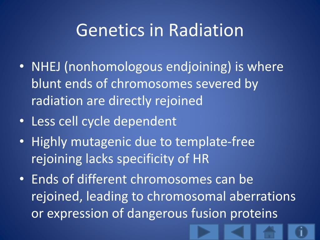 Genetics in Radiation