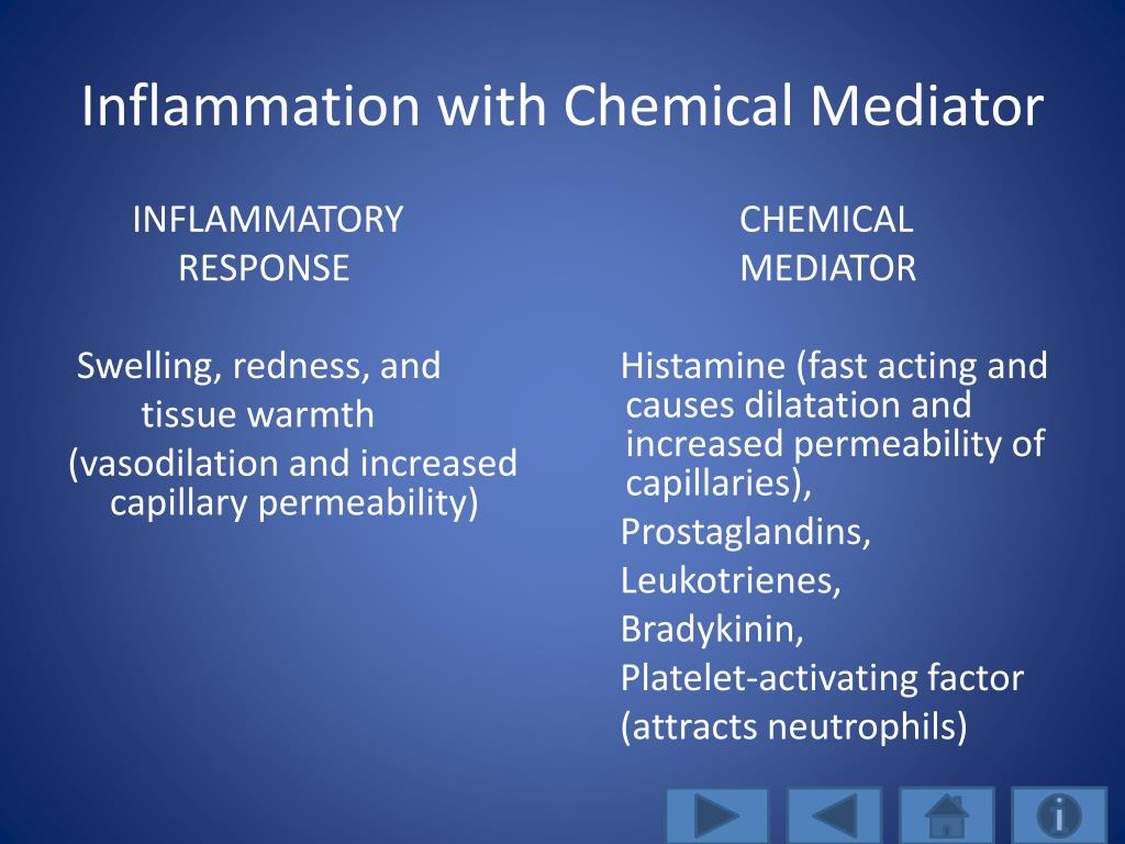 Inflammation with Chemical Mediator