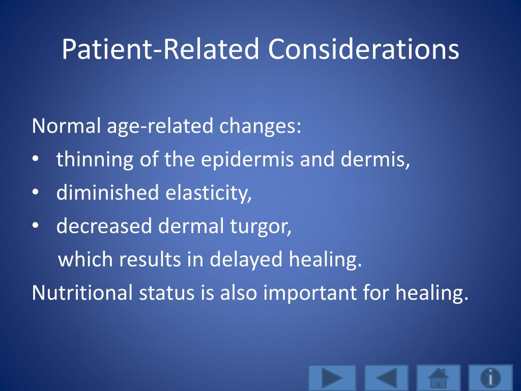 Patient-Related Considerations