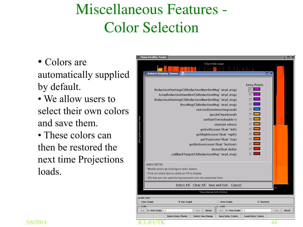Miscellaneous Features -