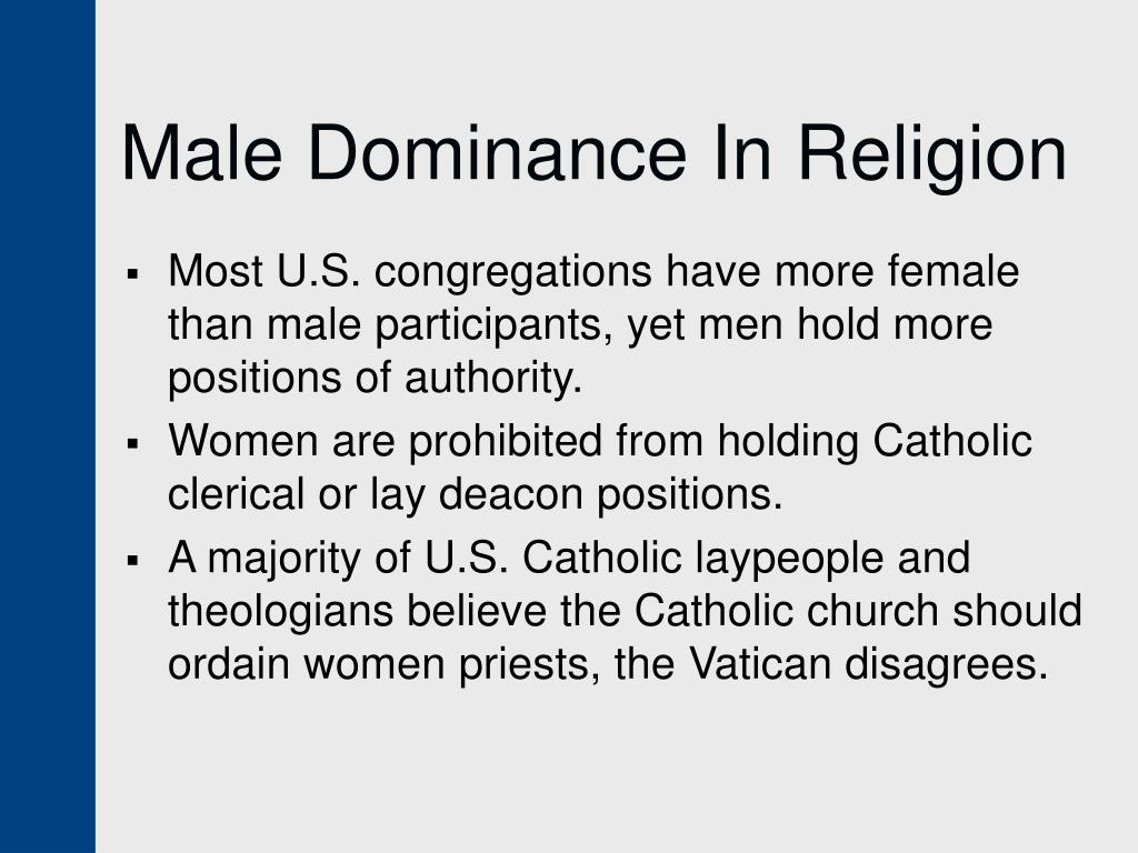 Male Dominance In Religion