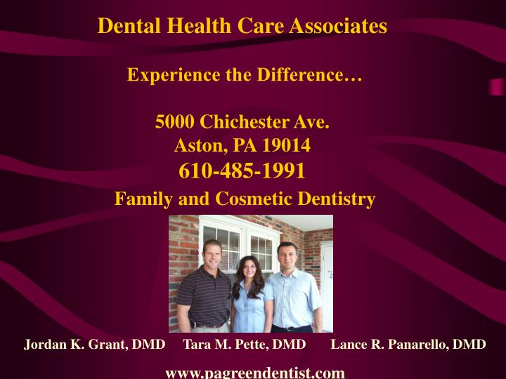 Dental Health Care Associates