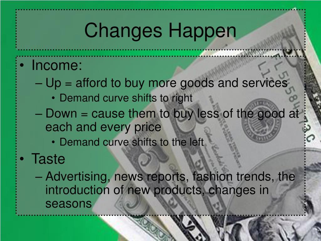 Changes Happen